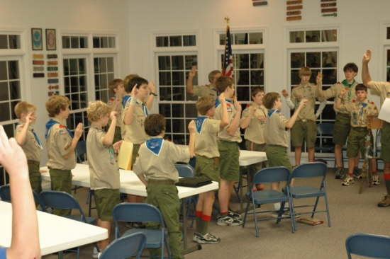 The Boy Scout Oath